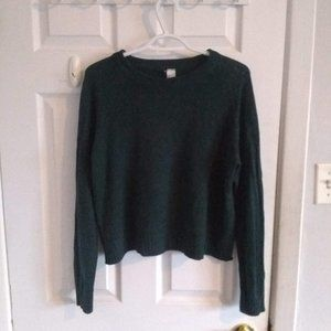 H&M Divided dark green Knit Sweater